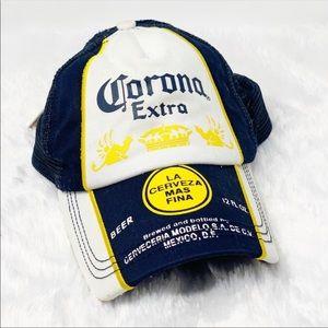 Vintage Corona Trucker Dad SnapBack Hat